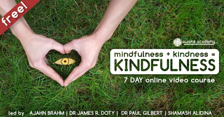 Kindfulness Ajahn Brahm Shamash Alidina James Doty Paul Gilbert